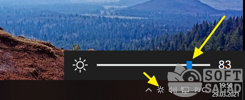 Win10 Brightness Slider