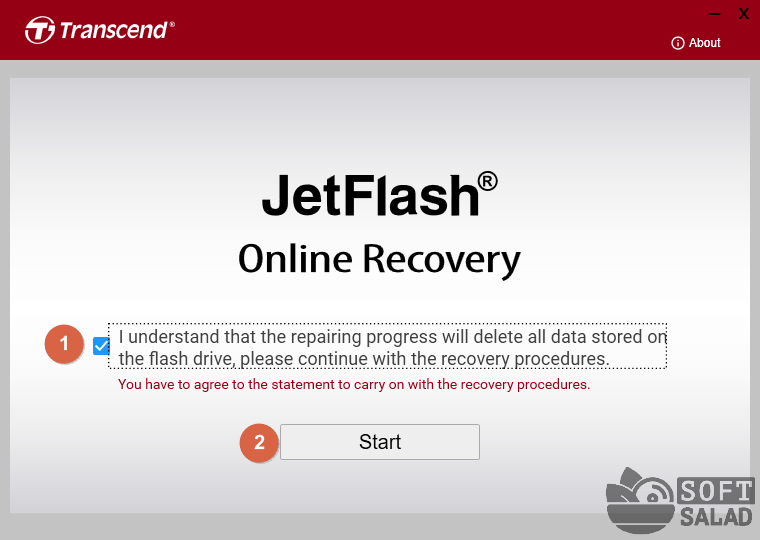 JetFlash Online Recovery